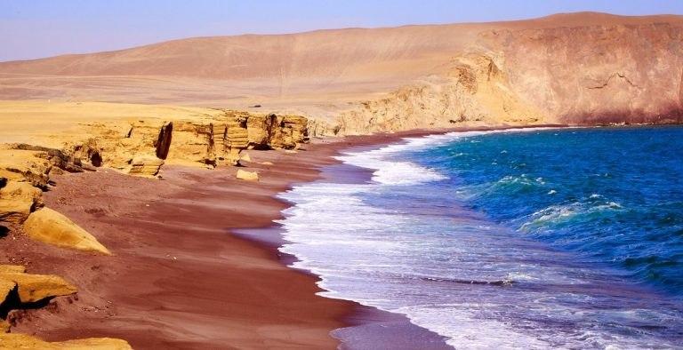Paracas-strand