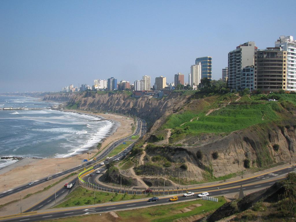 la ciudad capital de la República del Perú