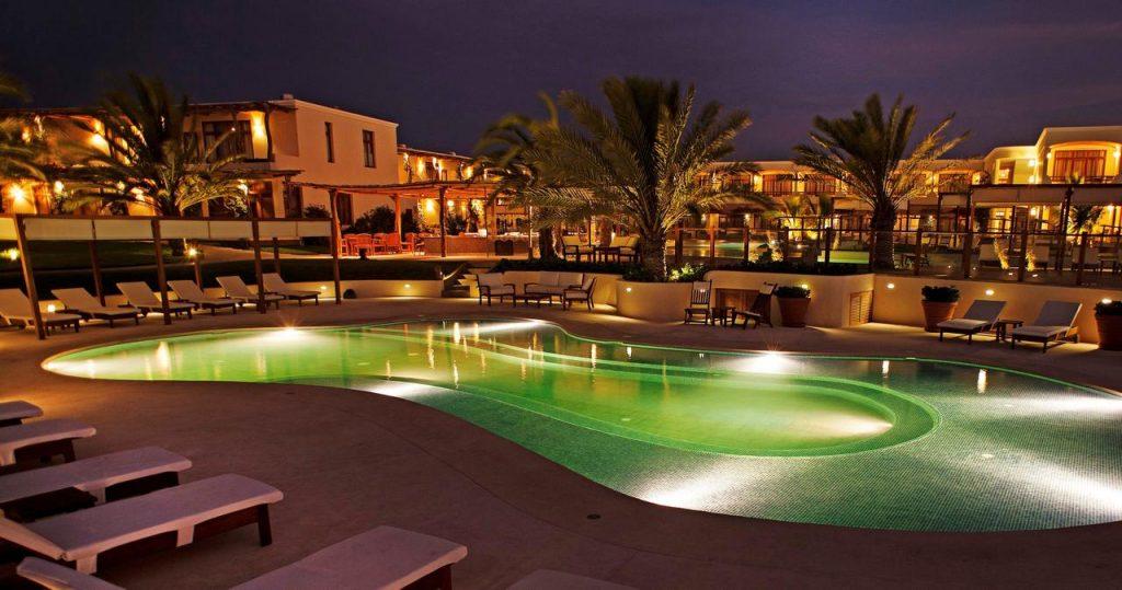 Hotel hacienda bahia paracas 4 southamericaplanet for Luxury paracas telefono
